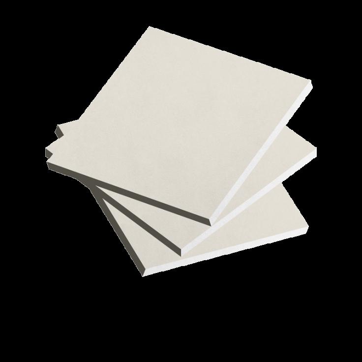 KARLİS Alçı Plaka (Beyaz)